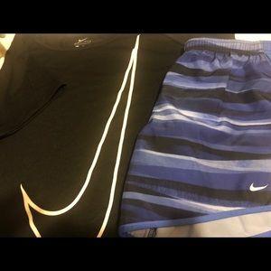 Matching Nike , Shirt and Short Set